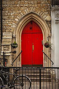 Red Door in London by Andrew Soundarajan