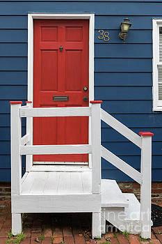 Red Door No 38 by Jerry Fornarotto