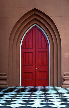 Dale Powell - Red Door on King