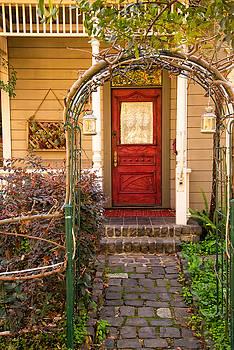 Red Door by Robert Brusca