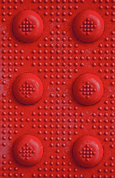 Red Dots Industrial Portrait by Tony Grider