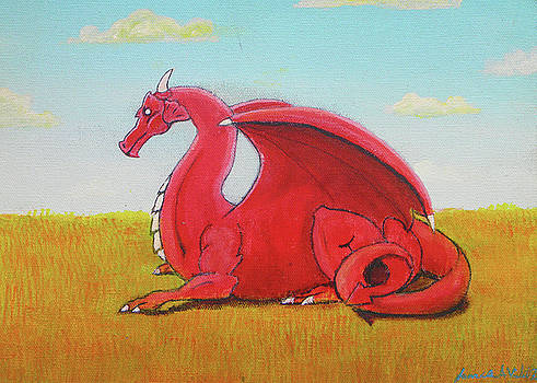 Red Dragon by James Violett II