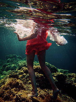 Red Dress by Gemma Silvestre
