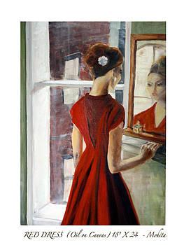 Red Dress by Mohita Bhatnagar