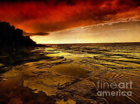 Red Dusk by Andrea Kollo