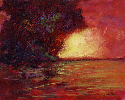 Red Dusk by Julianne Felton
