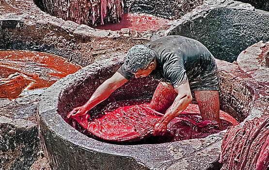 Dennis Cox - Red Dye
