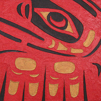 Red Eagle by Elaine Booth-Kallweit