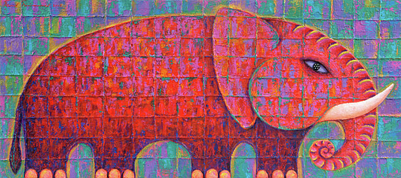 Red Elephant 2007 by Opas Chotiphantawanon