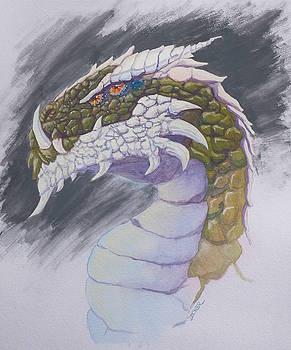 Red Eye Dragon by Robert Decker