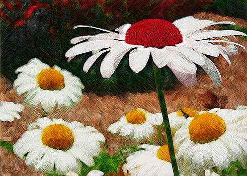 Dee Flouton - Red Eyed Daisy