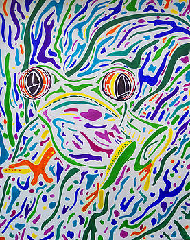 Red Eyed Tree Frog by Megan Howard
