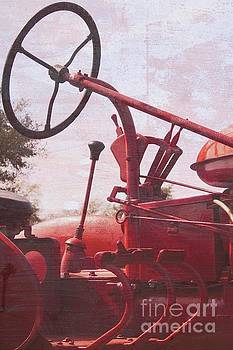 Red Farmall by McCormick #777 by Ella Kaye Dickey
