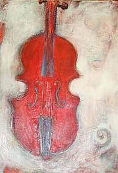 'Red Fiddle' by Sherry Leigh Williams