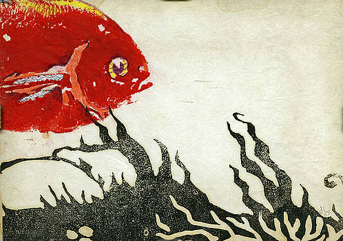 Red Fish by john Loest