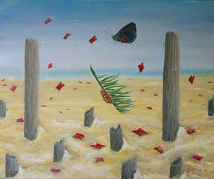 Red flag by Ana Bikic
