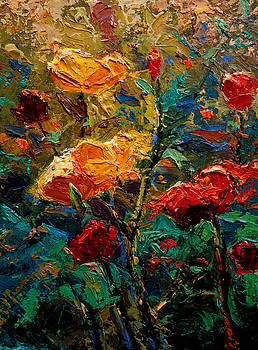 Kanayo Ede - Red Flowers 3