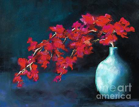 Red Flowers by Frances Marino