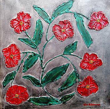 Gina Nicolae Johnson - Red flowers