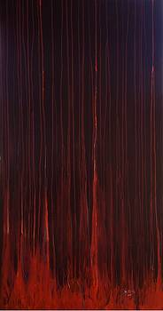 Red Forest by Barney  Ortiz