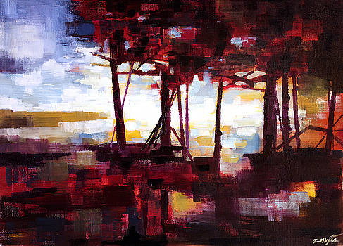 Red Forest Eve by Zlatko Music