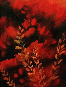 Red Forest by Olivia Jones