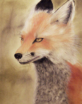Red Fox by Joanne Giesbrecht