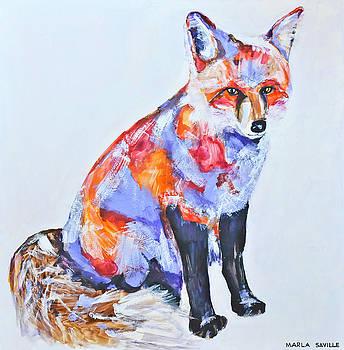 Red Fox by Marla Saville