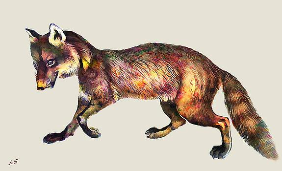 Red Fox by Sergey Lukashin