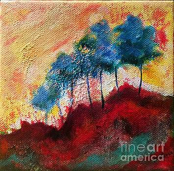 Red Glade by Elizabeth Fontaine-Barr