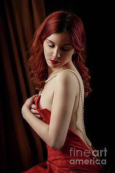 Red hair woman by Jelena Jovanovic
