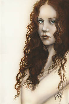 Red Haired Beauty by Wayne Pruse