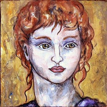 Red Haired Lady by Frances Gillotti