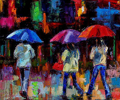 Red Handbag by Debra Hurd