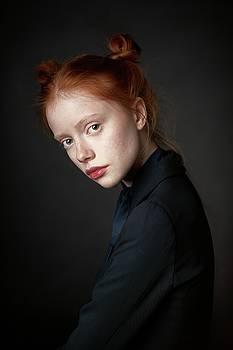 Red head child by Alexander Vinogradov