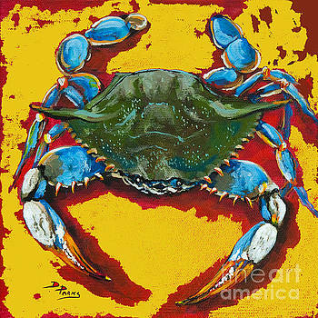 Red Hot Crab by Dianne Parks
