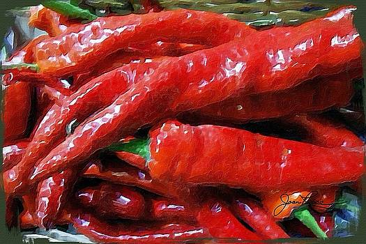 Red Hot Peppers  by Joan Reese