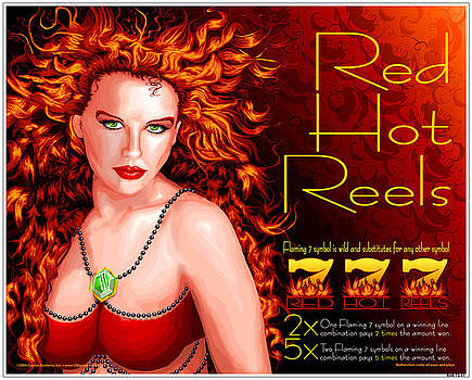 Red Hot Reels by Cindy D Chinn