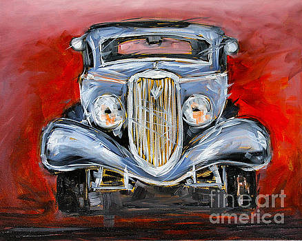 Red Hot Rod by Alan Metzger
