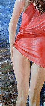 Red Hot Summer Dress by Richard Hahn