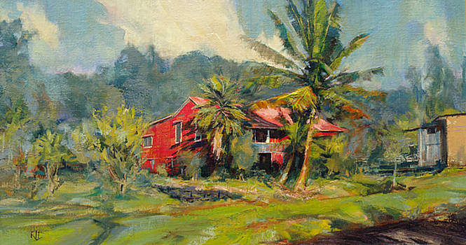 Red House  - Hawaii by Rod Cameron