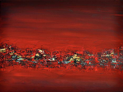 Red III by Beata Belanszky-Demko