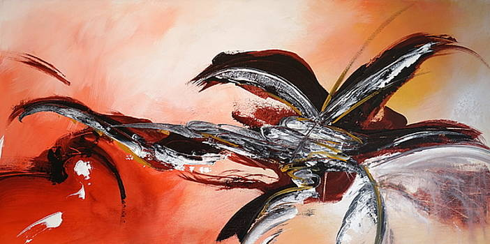 Red Ikebana by Theresa Marie Johnson