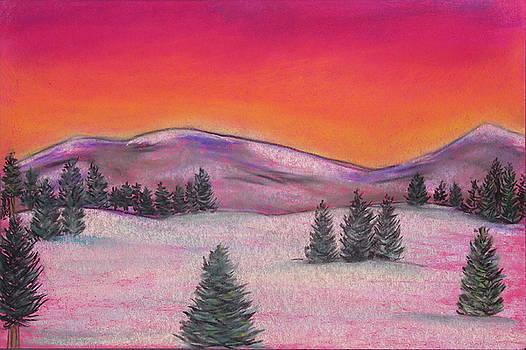 Joe Michelli - Red Landscape