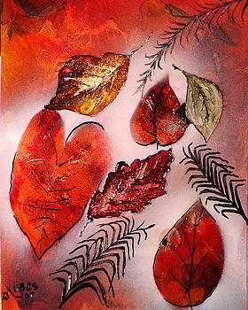 Red Leaves by Susan Kubes