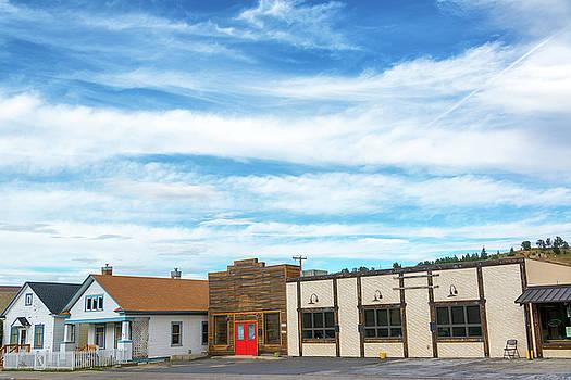 Red Lodge, Montana Main Street by Jess Kraft