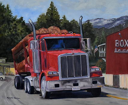 Red Logger by Mary Beth Harrison