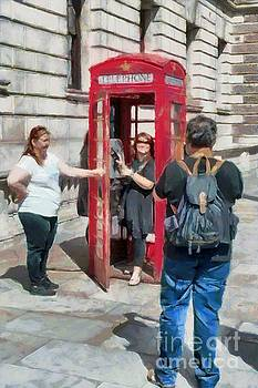 Red London Phone Box by Mick Flynn
