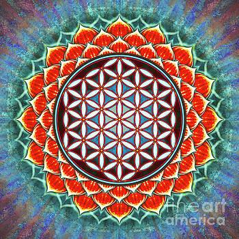 Red Lotus - Flower Of Live by Dirk Czarnota
