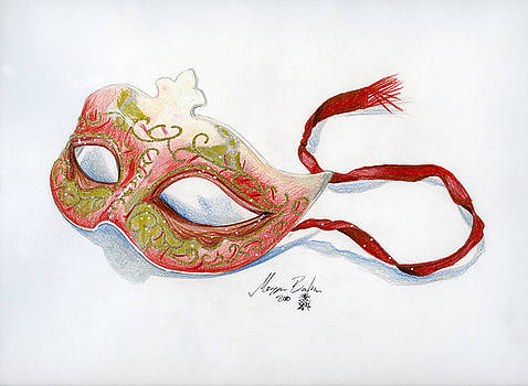 Red Mask by Morgan Banks